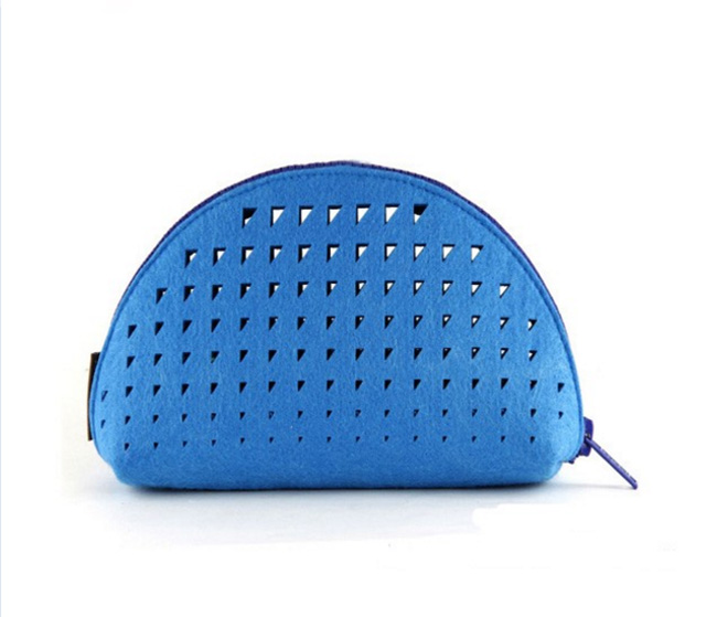 Hiqh quality simple cosmetic bag