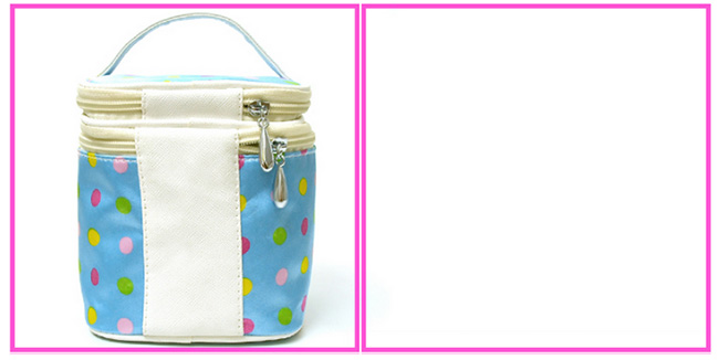 Wholesale promotional cute print cosmetic promotional travel bag
