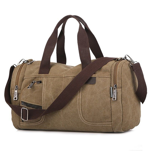 Fashion canvas  duffel bag