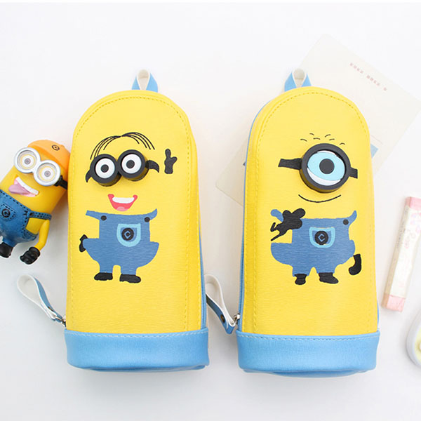 Cute yellow Minion pencil bag