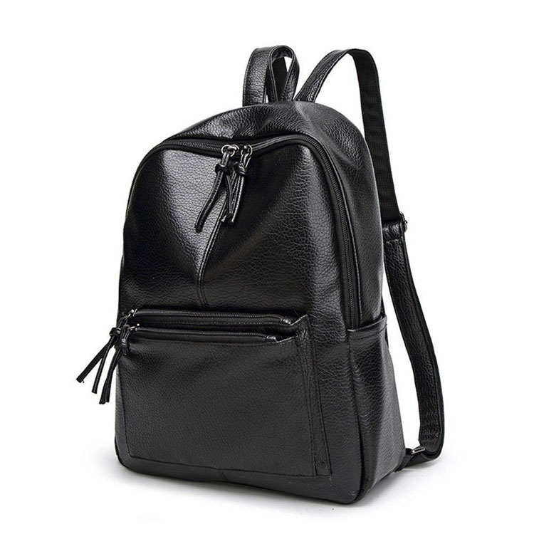 Fashion leather custom backpack