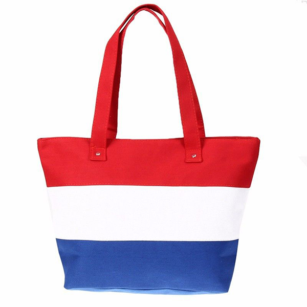 Fashion large capacity stripe  handbag
