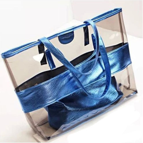 Hot sell fashion pvc leather handbag