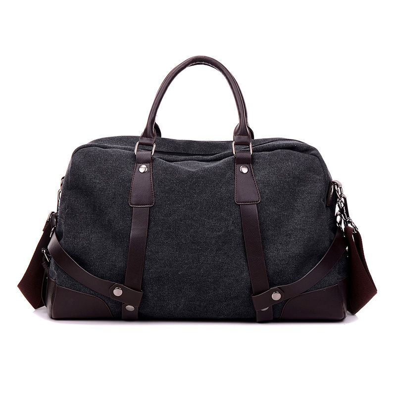 Classical large capacity travel bag for men