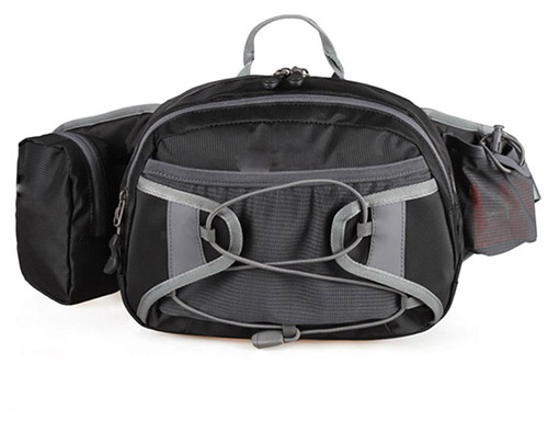 Large capacity waist bag unisex