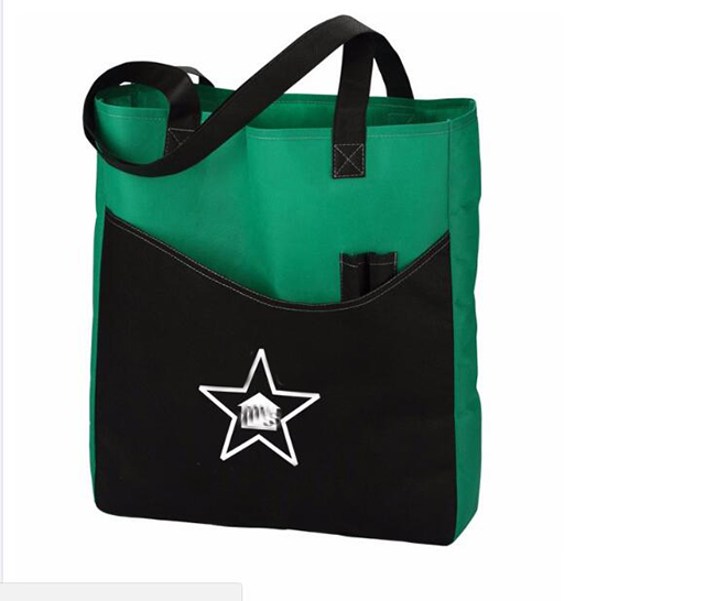 Recycle promotional shopping bag
