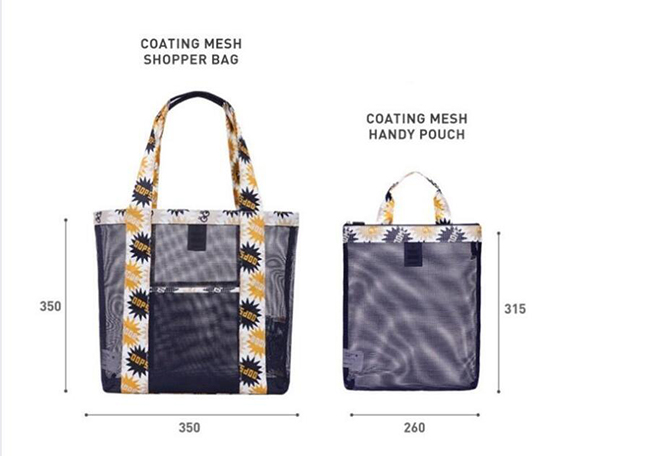 Reusable fashion shopping bag